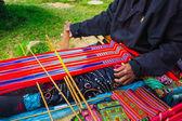 Folk art of Vietnam tradition — Stock Photo