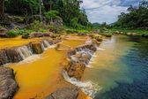 Surroundings Yang Bay waterfall in Vietnam — Stock Photo