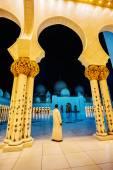 Shaikh Zayed Mosque in Abu Dhabi — Stock Photo