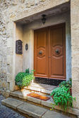 Doors in an old house — Stock Photo