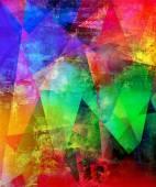 Abstract polygonal artwork — Stock Photo