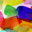 Bright watercolor brushstrokes on paper — Stock Photo #55365323