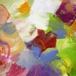 Abstract paint textures on canvas — Stock Photo #55365383