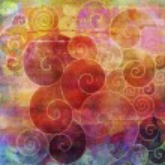 Spirals on mixed media — Stock Photo #67244051