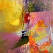 Abstract oil painting on canvas — Stock Photo #74012515