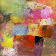 Abstract oil painting on canvas — Stock Photo #74013037