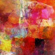 Abstract oil painting on canvas — Stock Photo #74013181