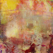 Abstract oil painting on canvas — Stock Photo