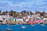 Tarihi Lunenburg liman Nova Scotia Ns Kanada — Stok fotoğraf