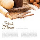 Taze ekmek — Stok fotoğraf
