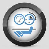 Quick performance — Vector de stock