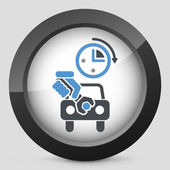Fast car repair — Vector de stock
