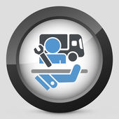 Top quality cargo assistance — Vector de stock