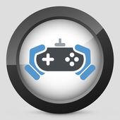 Joypad icon — Stock Vector