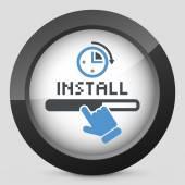 Quick install — Stock Vector
