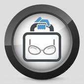 Eyeglasses shop — Stock Vector