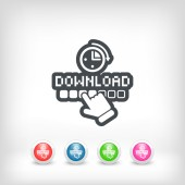 Download progress — Stock Vector