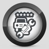 Assistance icon — Stock Vector