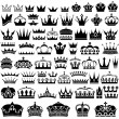 Crown Collection — Stock Vector #69790709