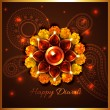 Happy diwali background — Stock Vector #53964051