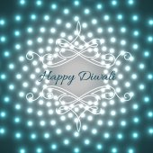 Creative design of diwali — Vector de stock