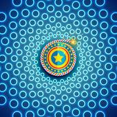 ディワリ祭の美しい背景 — ストックベクタ