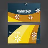 Stylish  business template design — Stock Vector
