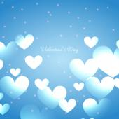Beautiful hearts  background — Stock vektor
