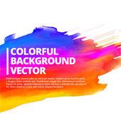 Colorful ink splash background vector design — Stock Vector
