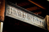 Funeral Service — Stock Photo