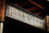 Funeral Service — Стоковое фото