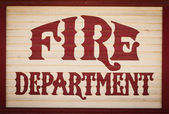 Fire department — Stock Photo