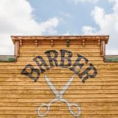 Barber — Stock Photo