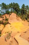 Roussillon ochres — Stock Photo