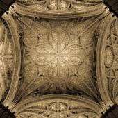 Interior Catedral de Sevilla — Foto de Stock