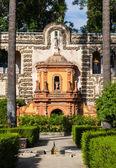 Seville Alcazar Garden — Stock Photo