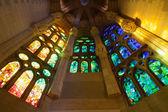 Church windows interior — Stock Photo