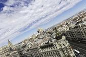 Madrid Skyline — Stock Photo