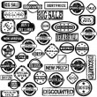 Rubber stamps with sale messages — Stock Photo #53175471