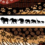 African background — Stock Vector #55973503