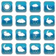 Weather web buttons — Stock Vector #55975523