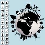 Ecological concept — Stock Vector #55975661