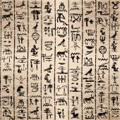 Egyptian hieroglyphics — Stock Vector