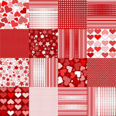 Valentine's Day backgrounds — Stockvektor