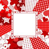 Valentine celebration card — Stock Vector