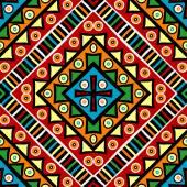 Ethnic carpet — Stock Vector