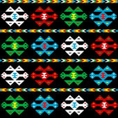 Ethnic texture — Stock Vector
