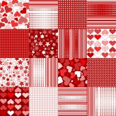 Valentine's Day backgrounds — Stock Vector