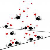 Valentine's Day background — Stock vektor