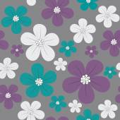 Floral fundo sem emenda — Vetor de Stock